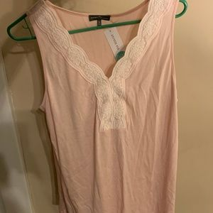 Market & Spruce - Pink Sleeveless Top